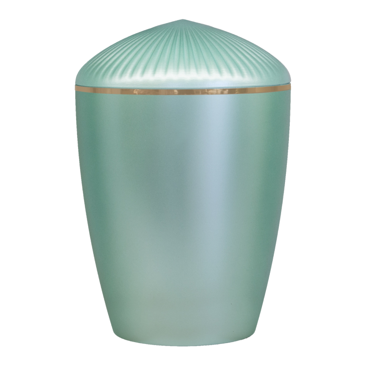 Ferndown Gold Band Cremation Urn – Mint